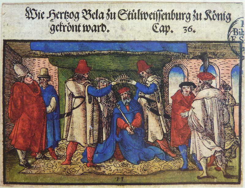 I. Béla koronázása 1060-ban.