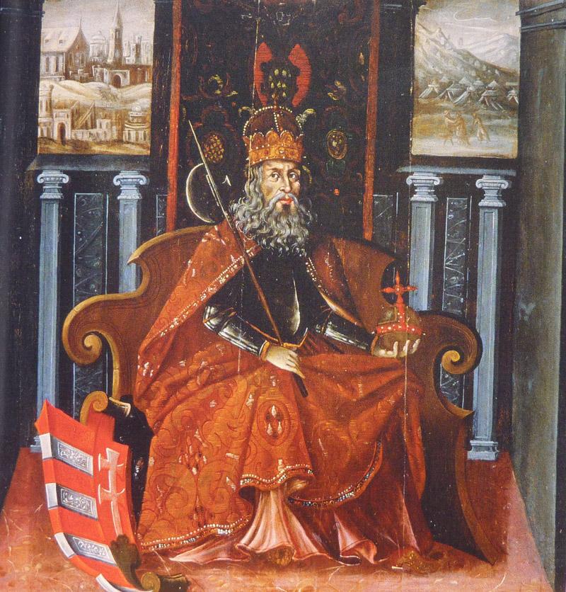 Szent László. Ismeretlen magyarországi festő munkája, XVIII.század