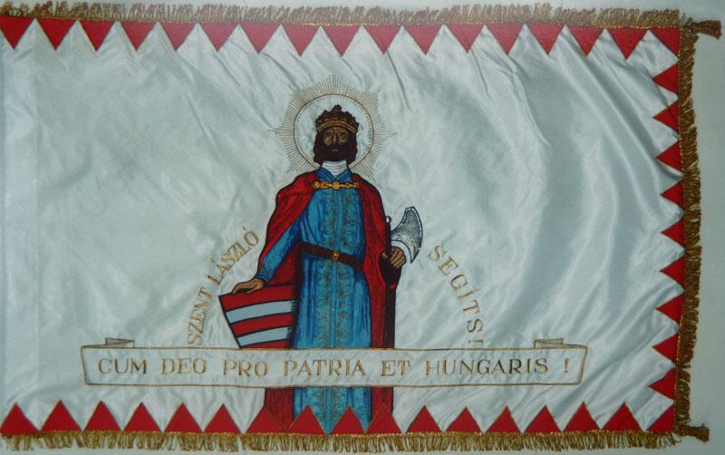 Szent László Társaság (1861) és Rend zászlaja